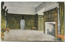 Derbyshire Postcard - Haddon Hall - The Drawing Room   ZZ70