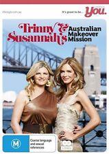Trinny & Susannah's Australian Makeover Mission (DVD, 2012, 2-Disc Set) Region 0