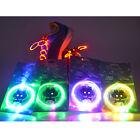 Fashion LED Light Up Shoelaces Waterproof Flash Glow Stick Party KTV Bar Disco