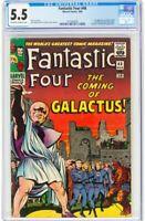 Fantastic Four #48 CGC 5.5 - Galactus