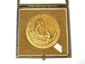 1952 British Architecture Cross Gates Branch Library Leeds Medal to C CASTELOW