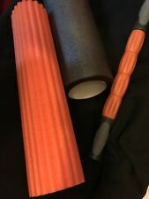 3 in1 Yoga Foam Roller Fitness Exercise Physical Trigger Massage Stick