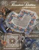 Boudoir Doilies Linda Mershon Thread Crochet Instruction Pattern Book ASN 1184