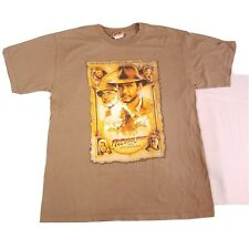 Vtg Indiana Jones The Last Crusade Shirt Size L Promo Movie 80s Spielberg Z7