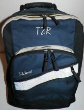 L.L. Bean Deluxe Backpack Pack Monogrammed TZR