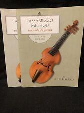 Passamezzo Method Viola Da Gamba Tremble Viol Books 1 & 2 Beginner Elhard
