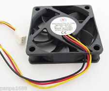 50pcs Brushless DC Cooling Fan 60x60x15mm 60mm 6015 7 blade 5V 3pin Connector UK