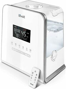 Levoit LV550HH Warm and Cool Mist Humidifier for Bedroom Large Room, 5.5L