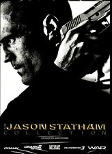 NEW 5DVD - JASON STATHAM - CRANK + CRANK 2 + MECHANIC + WAR + TRANSPORTER 3