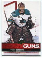2012-13 Upper Deck Exclusives 243 Tyson Sexsmith Rookie YG 60/100 Young Guns