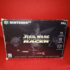 Vintage 1999 Nintendo 64 N64 Star Wars Episodio I Racer Cartucho Video Juego Pal