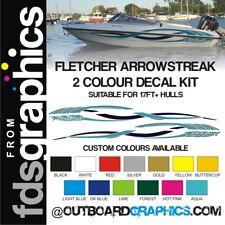 Fletcher Arrowstreak 2 colour hull sticker/decal kit - custom colours available