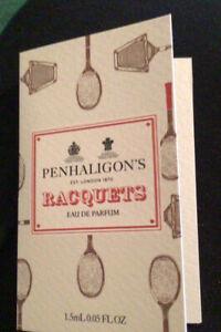 Penhaligon's Racquets Eau De Parfum Carded Sample 1.5 Ml
