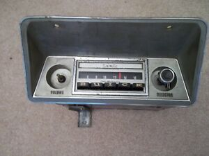 1969 Buick Skylark, GS-350, GS-455, GSX AM Push Button Radio, WORKS!!!