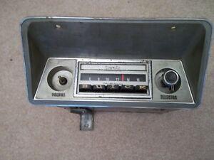 1970 Buick Skylark, GS-350, GS-455, GSX AM Push Button Radio, WORKS!!!