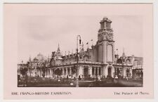 Franco British Exhibition, London 1908 postcard - The Palace of Music - RP