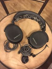 SteelSeries Arctis 5 Black Over the Ear Gaming Headset for PC