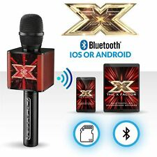 NEW THE X FACTOR BLUETOOTH PORTABLE KARAOKE ECHO AUDITION MICROPHONE