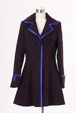 Syfy miniseries Alice in wonderland Alice Long Purple Coat Costume Tailored