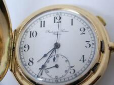 Antique 14k AUDEMARS FRERES GENEVE REPEATER Chronograph Hunter Case Pocket Watch