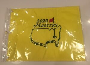 2020 Masters Augusta National Official GOLF PIN FLAG New Sealed in Bag