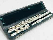 USED ALTUS / A807R Lip Silver Inline Ring Key Flute C Foot Tube Free shipping