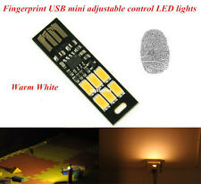 New MINI Touch Switch USB mobile power camping lamp LED night light Warm lamp SW