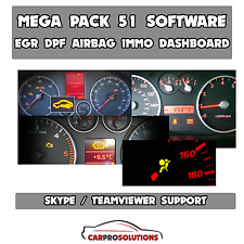 56x Best Software EGR DPF Immo Off Remover Airbag Repair Dashboard Calibration