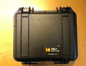 Peli Case 1200Schwarz Uhrenbox für Sammler