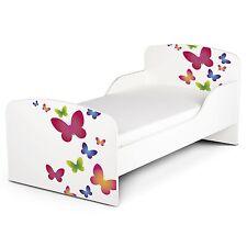 Lit d'enfant en bas âge MDF de papillons neuf meuble