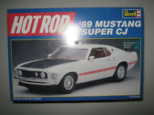 Revell Hot Rod 1969 Mustang Super Cj Model Kit Autographed By Dick Brannan