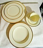 IVORY FLAIR by MIKASA, 5 Piece Setting for 4, 20 Pieces, Lot EM
