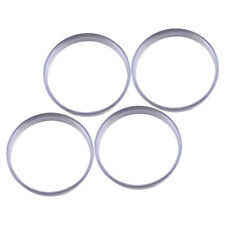4x Aluminum Alloy Wheel Spacer Hub Centric Spigot Rings 56.1 OD to 54.1 ID Urs