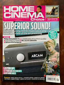 Home Cinema Choice August 2020 Hi-Fi Amps TVs Etc Magazine