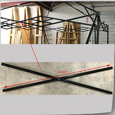 """Quik Shade Summit Series 10x10 Canopy MIDDLE TRUSS Bar 40.5""""  Parts Black"""
