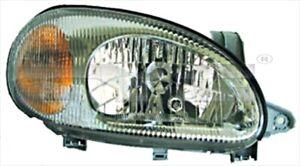 TYC Headlight Left Grey For DAEWOO Lanos 96304610