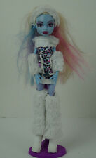 Monster High Doll Abbey Bominable White Fur