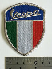 Vespa Italian Flag Patch - Embroidered - Iron or Sew On