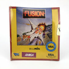FUSION Sealed DRO SOFT ELECTRONIC ARTS BULLFROG DISKETTE 3½ DISK COMMODORE AMIGA