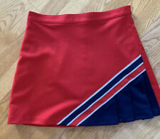 Cdt Cheerleader Uniform Red Blue Skirt Size L/15