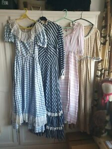 Set Of Four Dresses - theatre / panto / fancy dress / costume /