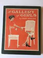 Vintage 1911 Coles Phillips A Gallery of Girls Picture Art Book