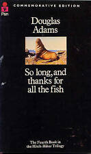 """NEW"" So Long, and Thanks for All the Fish (The Hitch Hiker's Guide to the Galax"