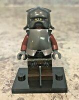 Genuine LEGO LOTR/Hobbit Minifigure - Uruk-Hai Helmet/Armor - Complete - lor008