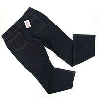 NEW Duluth Trading Co Womens DuluthFlex Boot Cut Jeans Sz 16 x 33 (36 x 34) Dark