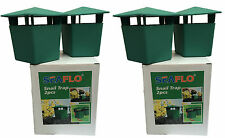 4 x SLUG SNAIL TRAPS for GARDEN PESTS chemical free