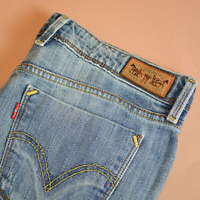 Levi 629 Jeans Bootcut Zip Fly Blue Vintage Women's (LabelW33L32) W 32 L 30