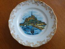 Retro 1980's -  'LE Mont Saint Michel' Decorative Souvenir Plate