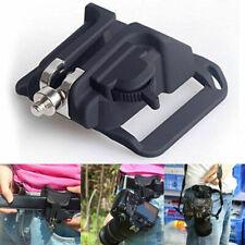 Hanger Waist Belt Buckle Mount Holder Clip Grip For DSLR Camera Compact Black