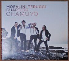 ALBUM CD - MOSALINI TERUGGI CUARTETO - CHAMUYO - APARTE - 2016 - ETAT NEUF